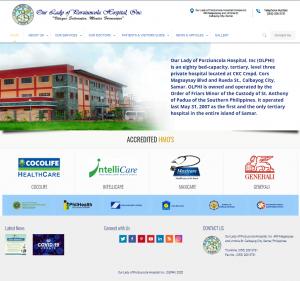 OLPHI Calbayog Website Project